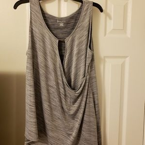 Lane Bryant AthLeisure high/low sleeveless top